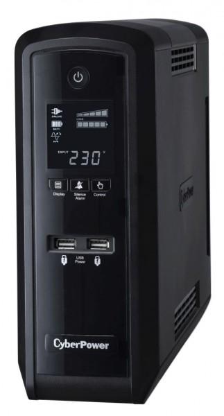 CyberPower USV, PFC-Serie, 1300VA/780W, Line-Interactive, reiner Sinus, USB/RS232,