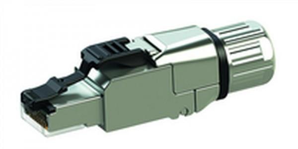 Telegärtner Stecker, TP/RJ45, Feldkonfektionierbar, CAT6A, MFP8-IE T568A, 5,5-10mm Kabeldurchmesser,