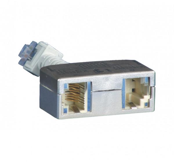 TP-Y(Adapter),10-100, Ethernet-Ethernet, BTR, 2 Stck.