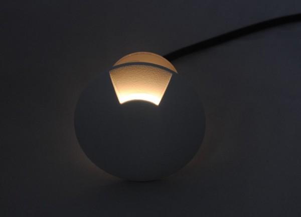 Synergy 21 LED Bodeneinbaustrahler ARGOS rund Segment-1 IP67 ww