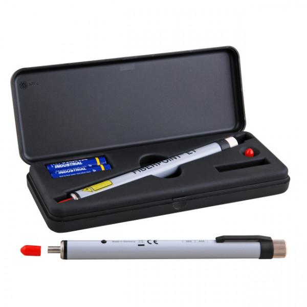 LWL Fiber Checker 5000 für SM und MM 2.5 mm Ferrulen, bis ca. 3km