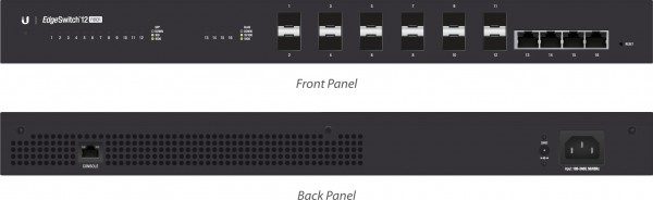 Ubiquiti EdgeSwitch Fiber, 12 ports