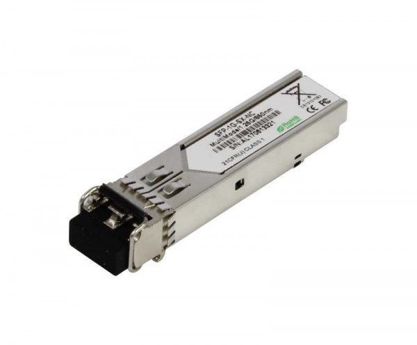 GBIC-Mini, SFP, 1000, SX/LC, uncodiert,