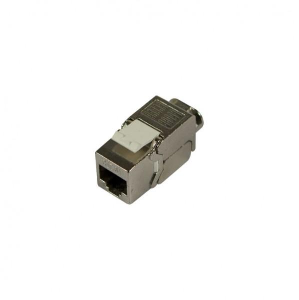 Keystone, Modul, TP-Buchse(RJ45), CAT6A, 500MHz, Slim-line, Synergy 21,