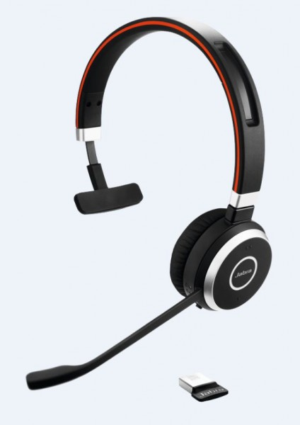 Jabra Evolve 65 Headset Mono USB / Bluetooth