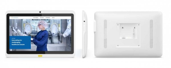 ALLNET Medical PoE Tablet 13 Zoll mit RK3288 Android 8 2GB/32GB mit opt.Telefonfunktion