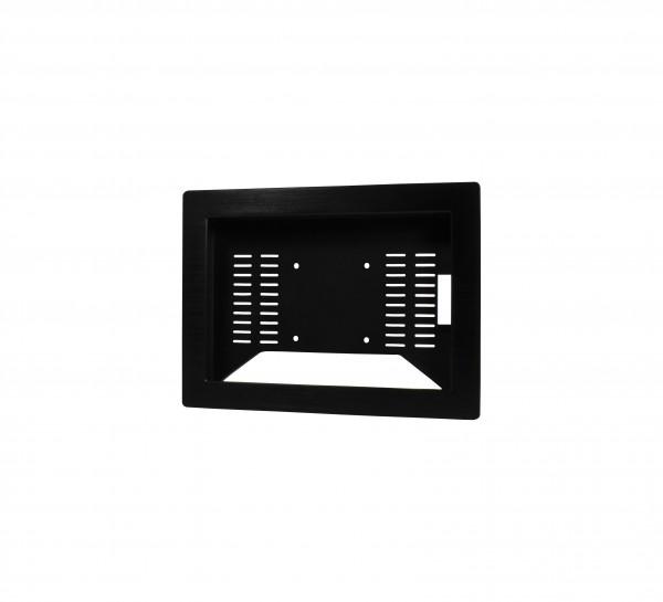 ALLNET Touch Display Tablet 10 Zoll zbh. Einbauset Einbaurahmen + Blende Schwarz Schmal