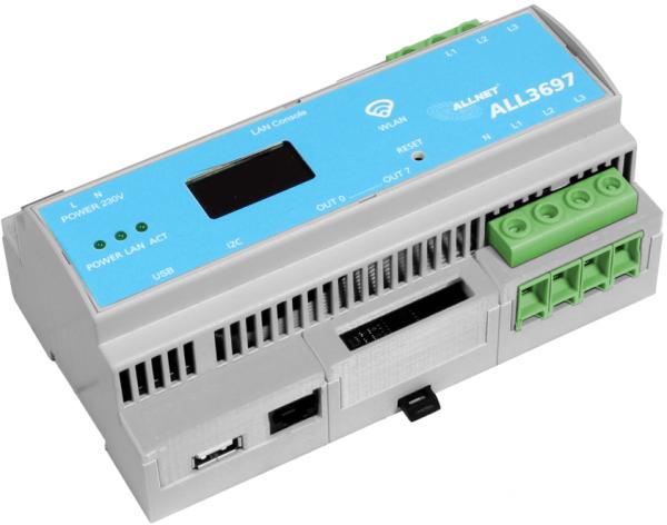 ALLNET ALL3697-32A / PM4 HUT Powermeter 32A 3phasig