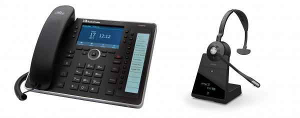 Audiocodes - Jabra Bundle, UC445HDEG & Engage 75 Mono