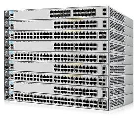HP Switch 1000Mbit, 48xTP + 4xSFP/SFP+-Slot, stackable, 3800