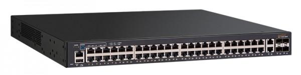 Ruckus Networks ICX 7150 Switch 48x 10/100/1000 PoE+ ports, 2x 1G RJ45 uplink-ports, 4x 1G SFP uplink ports upgradable to up to 4x 10G SFP+