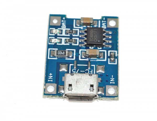 ALLNET 4duino 5V 1A Lit-Battery Micro USB Charger