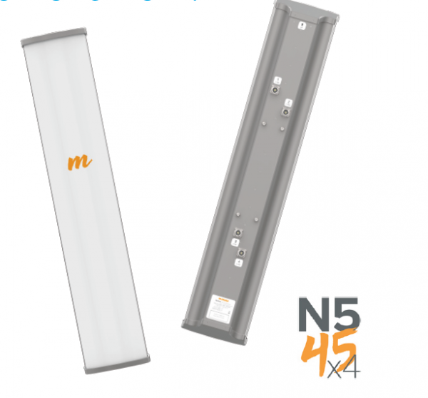 Mimosa N5-45x4 Sector Antenne