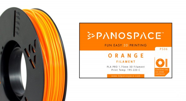 Panospace - Filament PLA orange 1,75mm