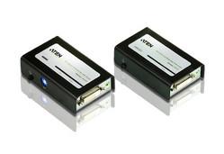 Aten DVI Extender mit Audio, bis zu 60m mit 2x RJ-45 Kabel,