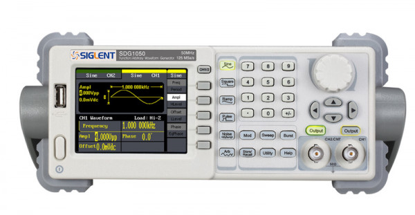 Siglent SDG1050 / 2-Kanal, 50MHz Signalgenerator, 125MSa/s