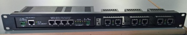 """ALLNET 19"""" 1HE Patchpanel für ALL048605/ALL048700/ALL048605"""