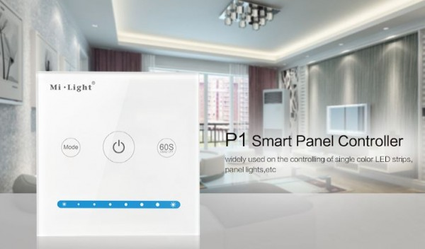 Synergy 21 LED Fernbedienung Smart Panel Controller(Brightness) *Milight/Miboxer*