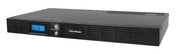 "CyberPower USV, OR-Serie, 600VA/360W, Line-Interactive, LCD, 19""/1HE, USB/RS232,"