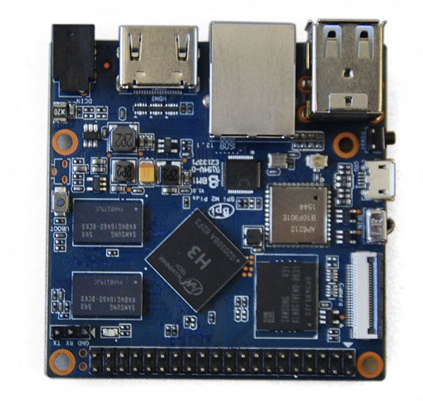 banana pi board BPi-M2+ / M2 Plus Quadcore Arm H3 CPU