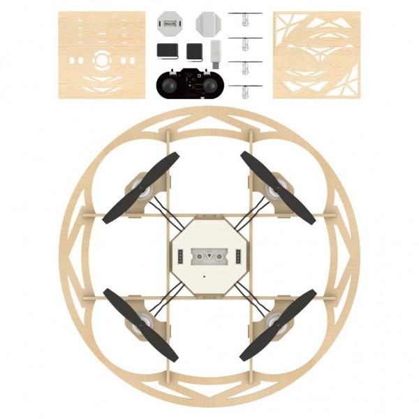 Airwood Taiji Holz Drohne / Wooden Drone Kit