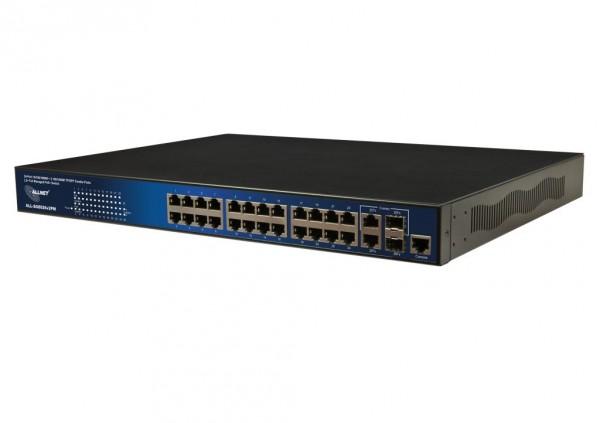 ALLNET ALL-SG8926v2PM / full managed Layer2+ 24 Port Gigabit H