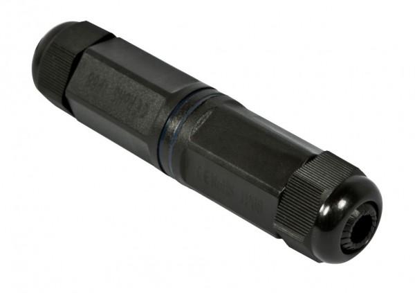 TP-TP Kupplung, RJ45 CAT6, IP67 Outdoor, bis 3-8mm - bestehende RJ45 Stecker verwenden, Synergy21,