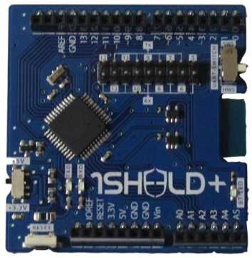 1Sheeld+ - Arduino Shield für IOS und Android