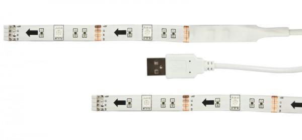 Synergy 21 LED Dekoline Flex Strip RGB USB KOMPLETT Set