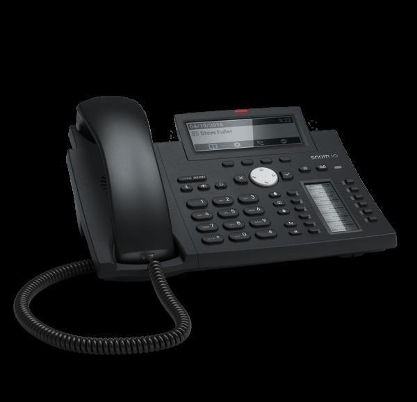 Snom D345 VOIP Telefon (SIP) o. Netzteil
