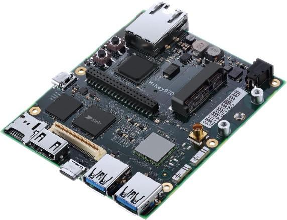 LeMaker HiKey 970™ 6GB, Octa Core 4xARM™ Cortex™ A73 + 4xA53 64-Bit-CPU, Mali G72 MP12 3D GPU