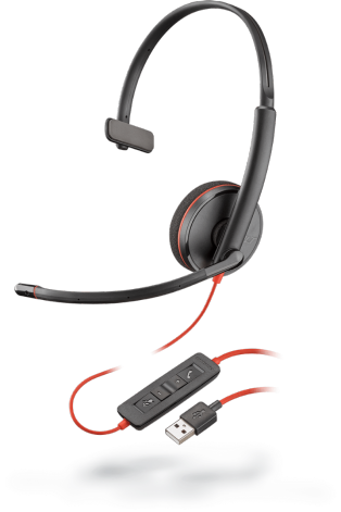 Plantronics Headset Blackwire C3225 binaural USB-C & 3,5 mm