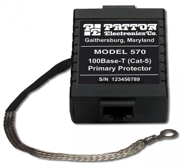 Patton 580 10/100BASE-TX SURGE PROTECTOR, 16 PORT, RACK/MT