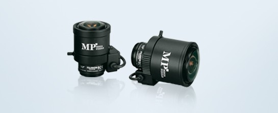 "Fujinon Objektiv 3MP 1/3"" CS-Mount 2,8-8mm Manuelle Iris"