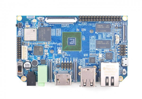 FriendlyELEC NanoPc-T3 - 1GB/8GB OctaCore A53 64-bit ARM Board