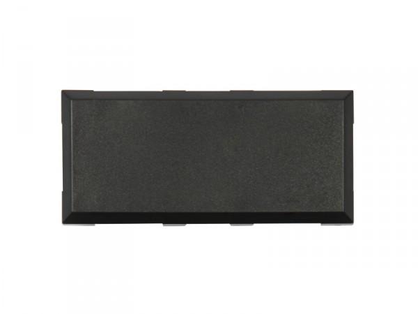 ALLNET Brick'R'knowledge Kunststoffschale 2x1 schwarz oben und unten 10ér Pack