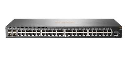 HP Switch 1000Mbit, 48xTP, 4xSFP/SFP+-Slot, 2540-48G-POE+-4SFP+, 370W POE+