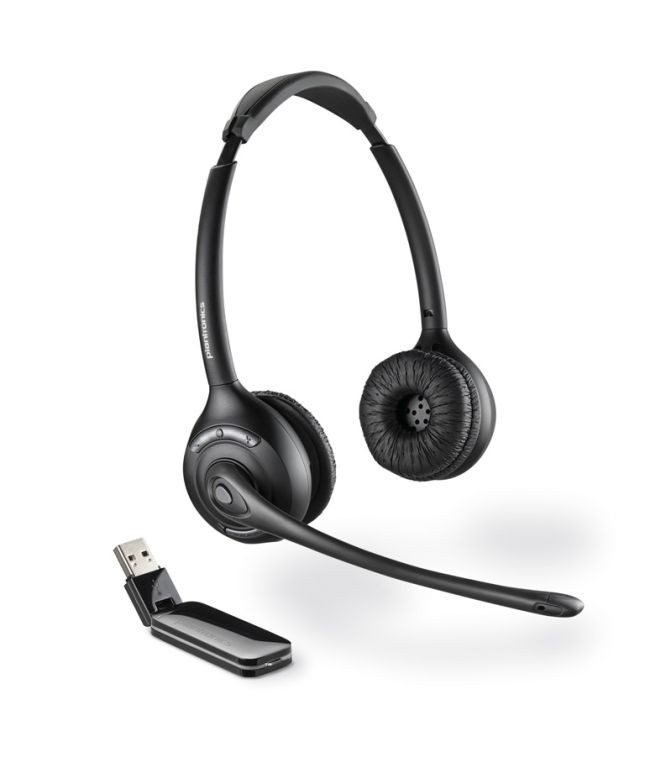 Plantronics CS70N//A Headset mit Ladeschale und Netzteil