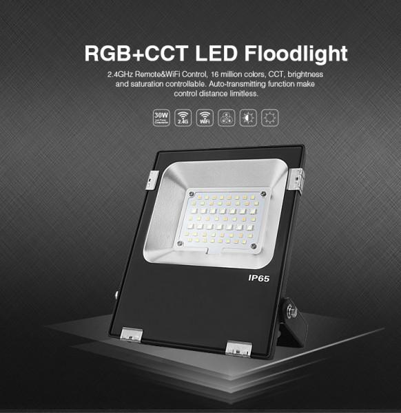 Synergy 21 LED Flächenstrahler 20W RGB-WW (RGB-CCT) IP65 230V *Milight/Miboxer*