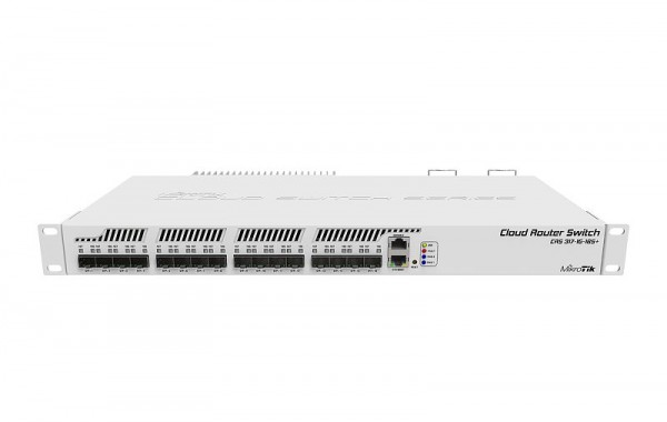 MikroTik Cloud Router Switch CRS317-1G-16S+RM, 16x SFP+, 1x Gigabit, Rackmount