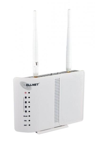 ALLNET ALL-WR02400N / WiFi Modem-Router f. ADSL2+ Annex B/J