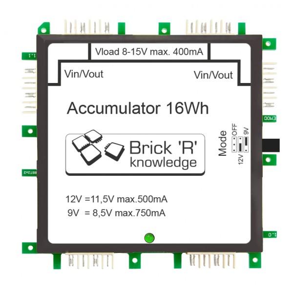 ALLNET Brick'R'knowledge Akku Brick 9V/12V