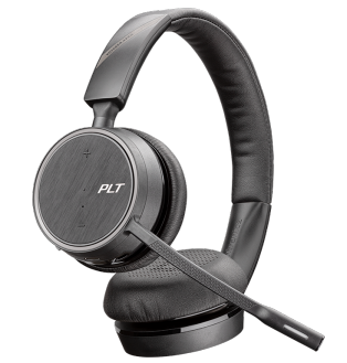 Plantronics Bluetooth Headset Voyager 4220 UC Schwarz USB