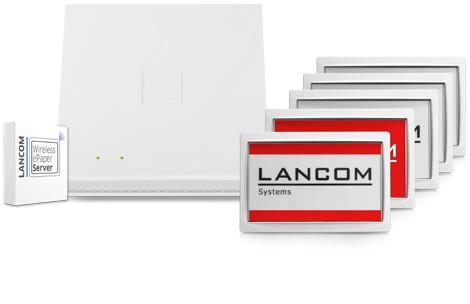 "LANCOM Wireless, WDG-2 2.7"", ePaper Display, (Bulk 5)"