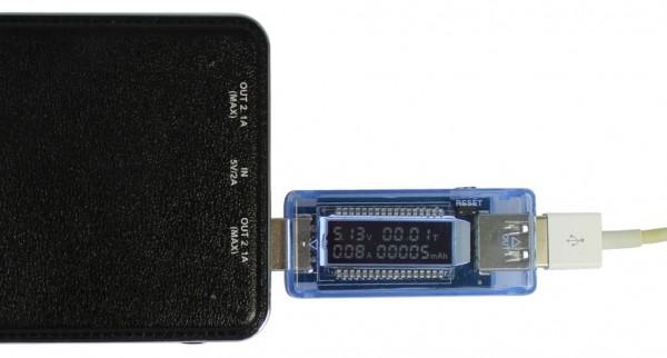 ALLNET USB OLED Powermeter/Voltmeter ALL-USB-PM2