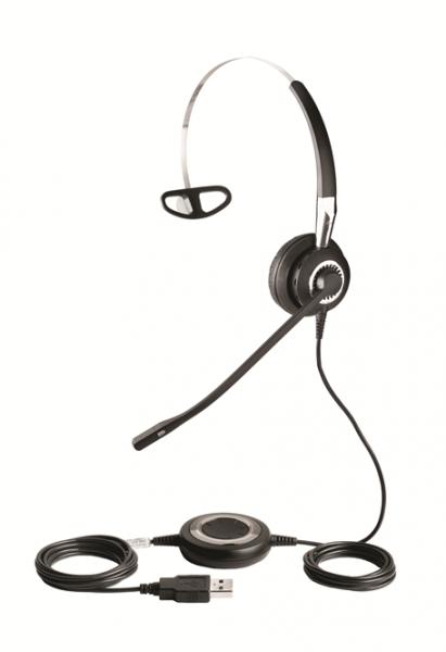 Jabra BIZ 2400 II Headset Mono USB / Bluetooth MS 3-in-1