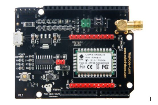RAK Wireless LoRa/LoRaWAN Program Button with Nodered tutorial, Support AS923, 433/868/915MHz, Battery, ABP and OTAA network, IoT button
