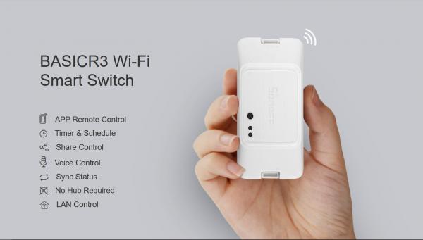 Sonoff · Switch · WiFi Smart Switch · BasicR3