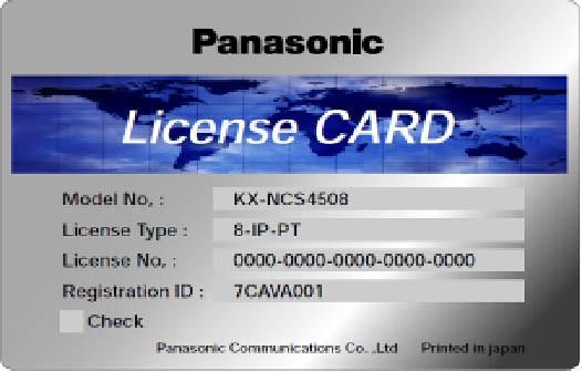 Panasonic KX-NCS 4950WJ erweiterte Funktionalität