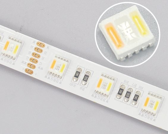 Synergy 21 LED Flex Strip RGB DC24V + RGB-WW (RGB-CCT) 420 LEDs one chip